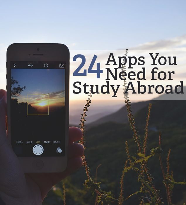 Don't leave home without downloading these 24 essential apps for study abroad students that'll make your study abroad trip so much easier!