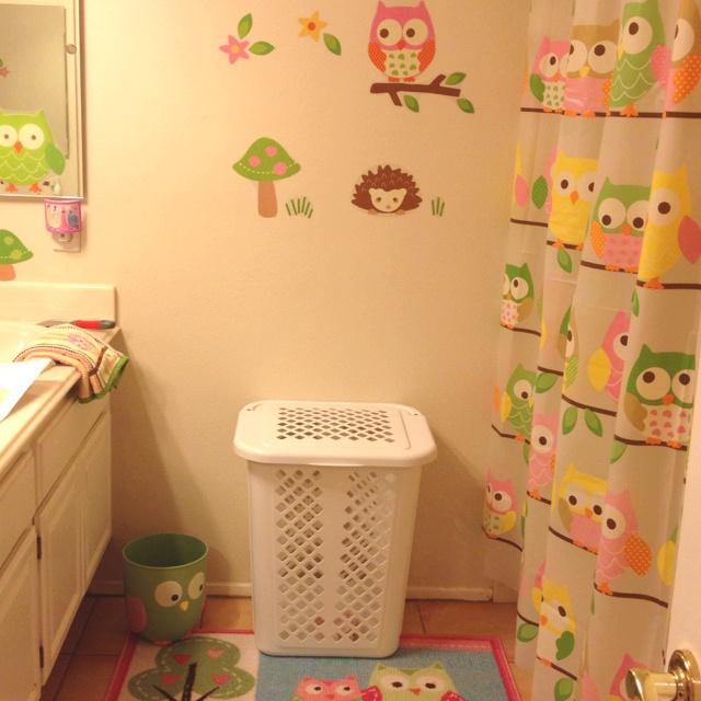 My little girls bathroom:)