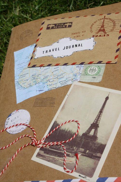 DIY: Travel journal (dutch website)