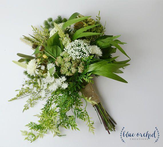 Wedding Bouquet Woodland Bouquet Cascade Bouquet Boho