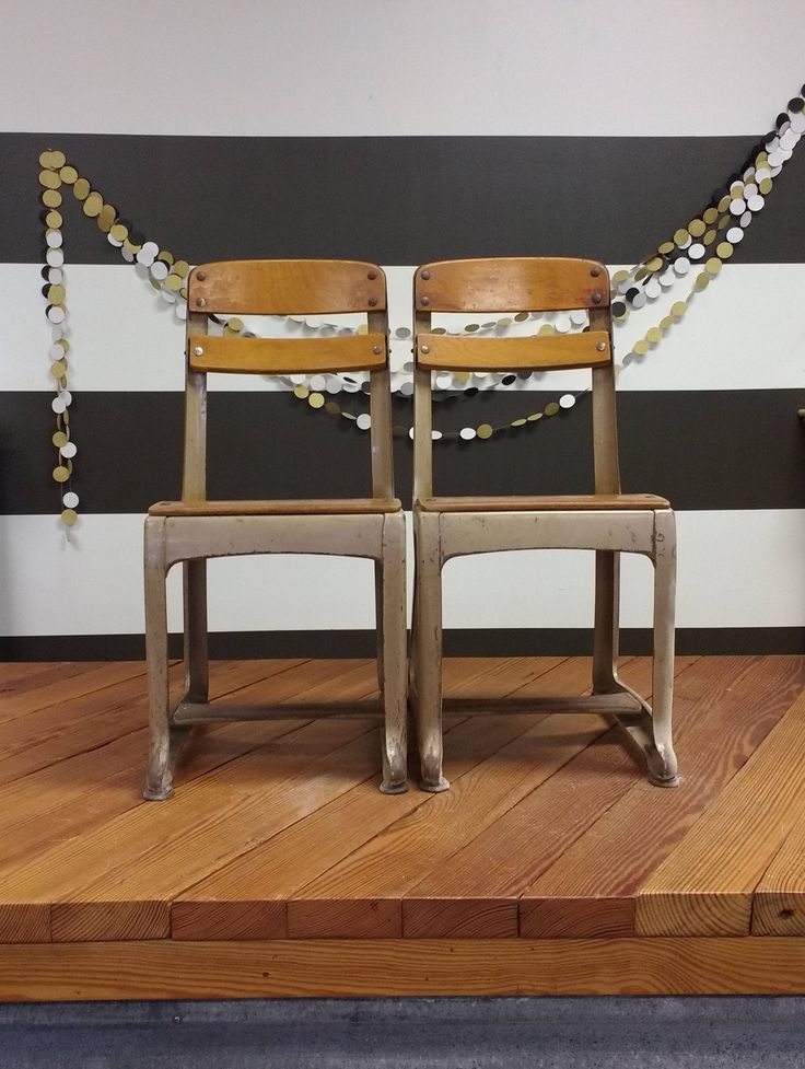 RESERVE for Jess; Elementary School Chairs; Old School Chairs; Student Chairs; Kids Chair; Student Chair; Joanna Gaines; Fixer Upper; Chairs by LynnMichelleDesign on Etsy