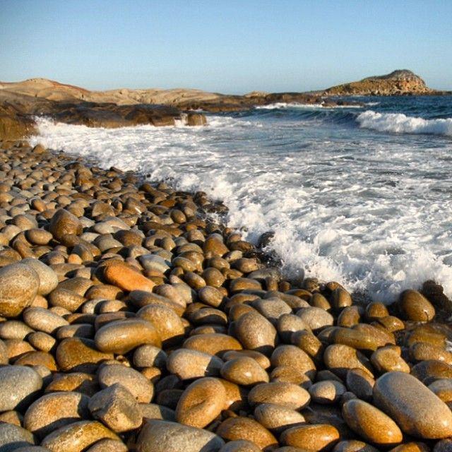 Egg Beach, Flinders Island - known for the smooth 'egg like' rocks found along the coastline.