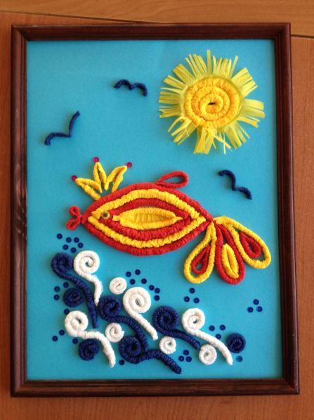 Мастер-класс «Картины из салфеток для оформления детского сада» - Для воспитателей детских садов - Маам.ру