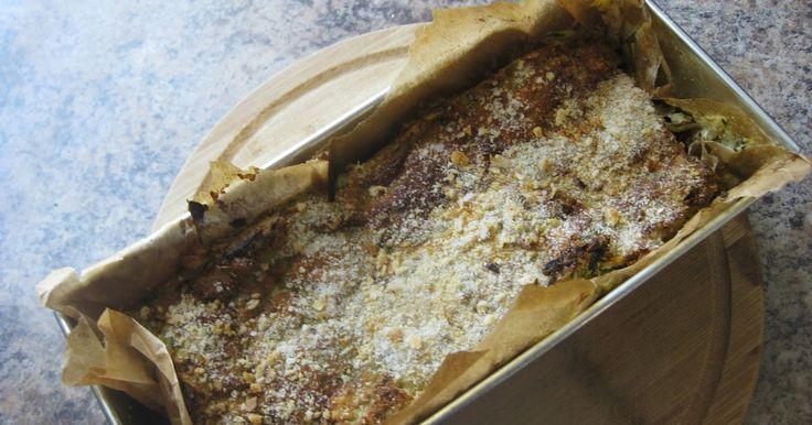 The Student Cookbook: Pasztet z cukinii