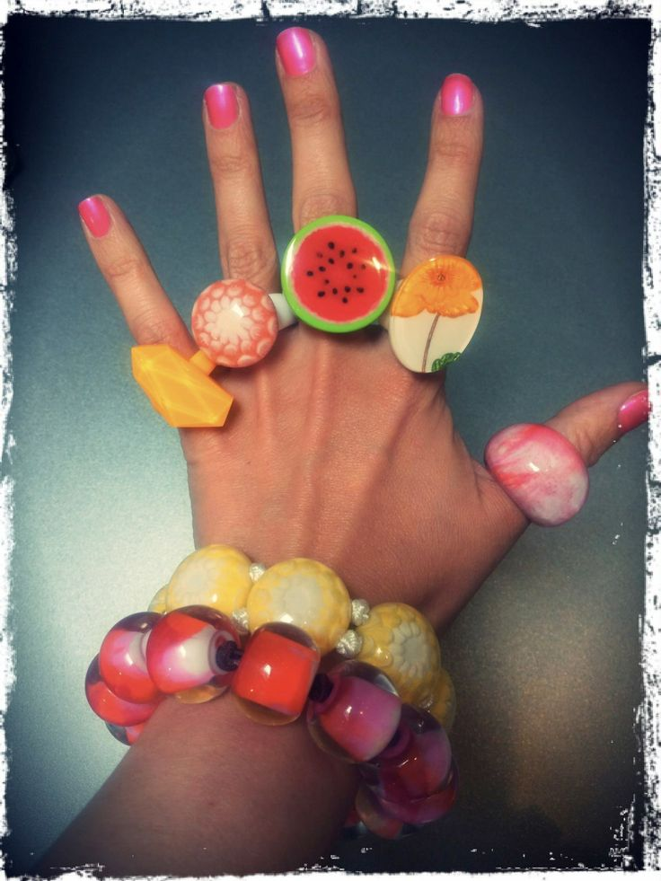 Colorful summer fingers #ZSISKA