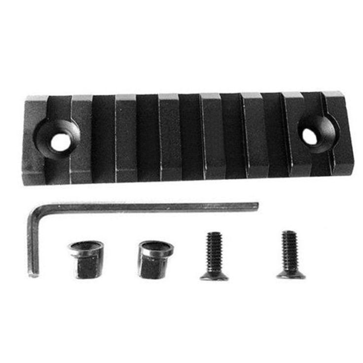 Polymer Slot M-LOK Rail Fits Compatible Picatinny/Weaver Hand Guard 5/7/13 Slots #Unbranded