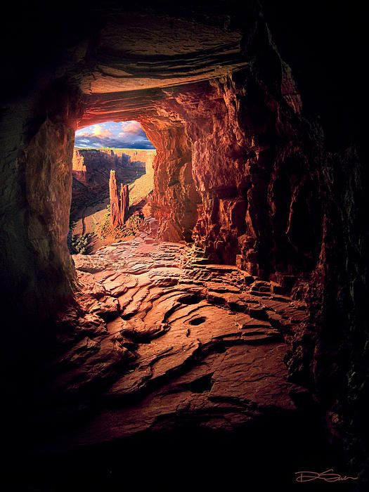 Spider Rock. Arizona's Canyon de Chelly. Outstanding photo!!!