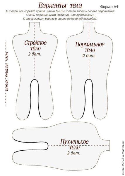 Подробный мастер-класс по созданию куклы в смешанной технике, автор Юлия Проскурина часть1. Обсуждение на LiveInternet - Российский Сервис Онлайн-Дневников