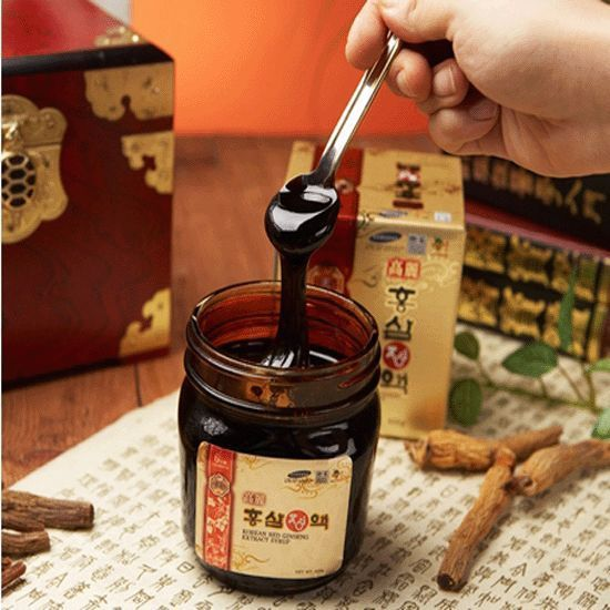 6-YEAR KOREAN RED GINSENG  EXTRACT SYRUP(600g*1) / Boost  immunity ! #KOREANHEAVENGINSENG