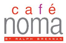 Have a yummy lunch at Café NOMA restaurant by Ralph Brennan