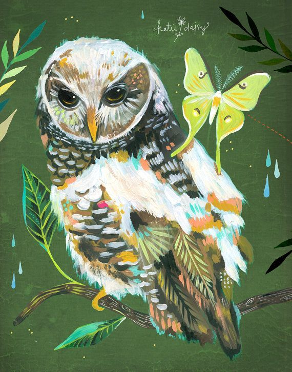 Hazel and Luna vertical print от thewheatfield на Etsy