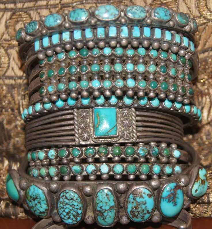 Native American Indian Turquoise Bracelets
