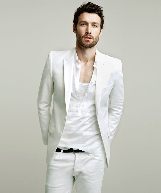 71 best images about white party fashion on pinterest for White shirt outfit mens