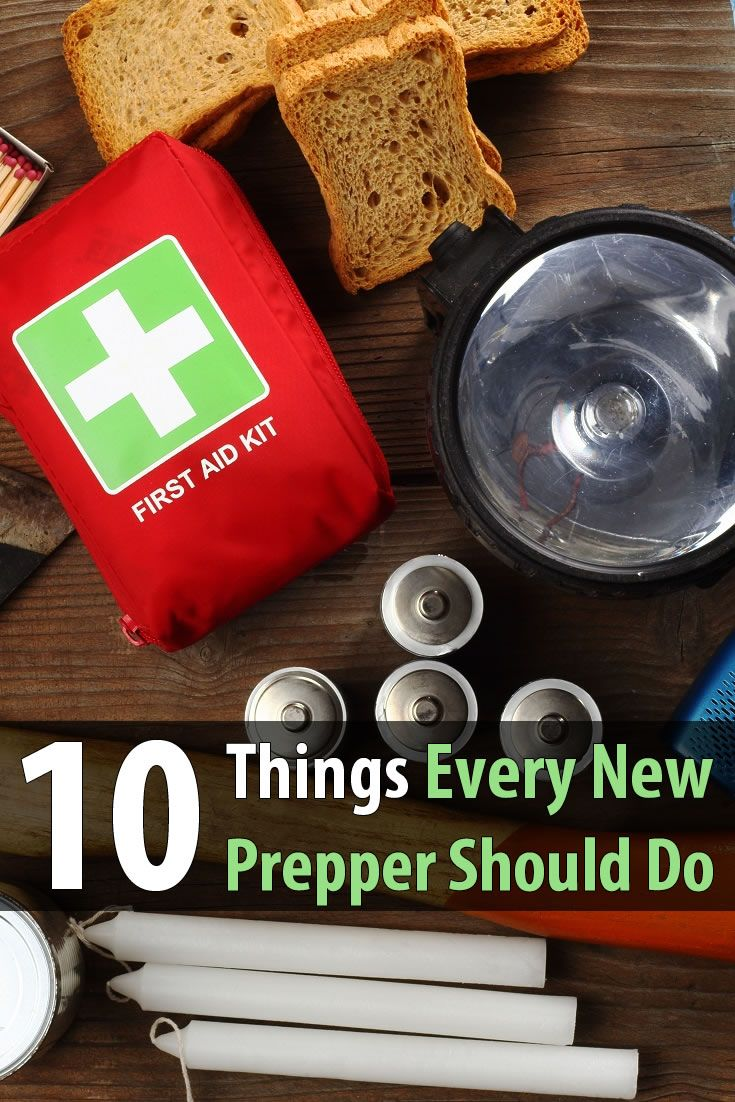 Daisy Luther from The Organic Prepper made a top 10 list for new preppers. This isn't just a list of things to buy; it's a list of things to do.