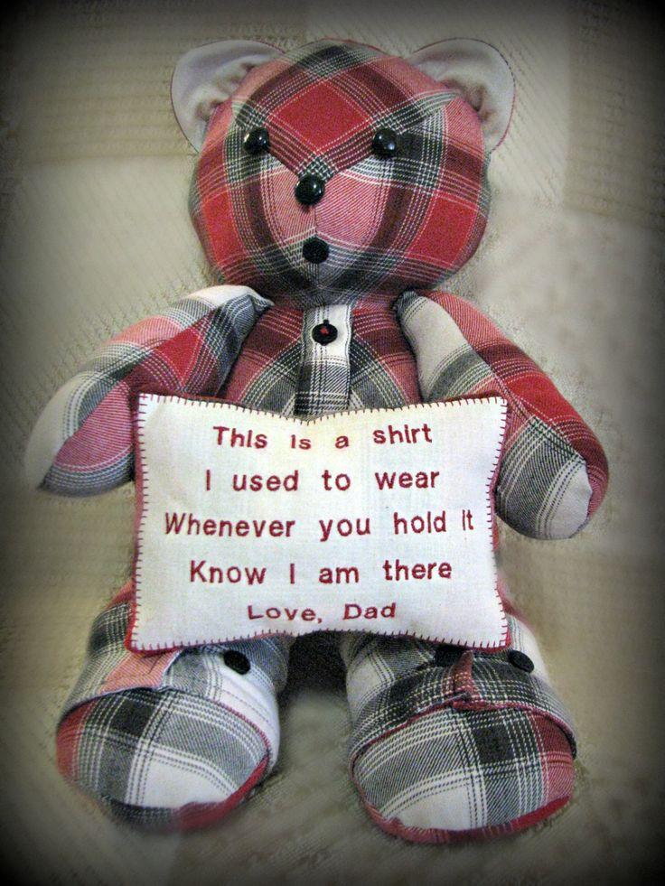 Custom Made Teddy Bear Cat Dog Or Bunny Holding Pillow