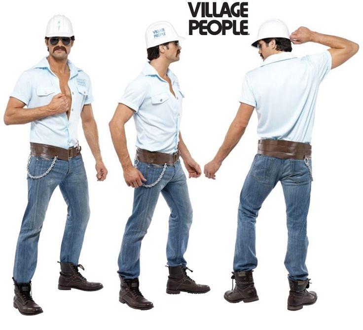 #Disfraz de #Obrero #Albañil de los #VillagePeople para Hombre. Auténtico y genuino disfraz de los componentes de la icónica banda de música #Disco. #Orgullo #OrgulloGay #OrgulloLGTB #OrgulloMadrid