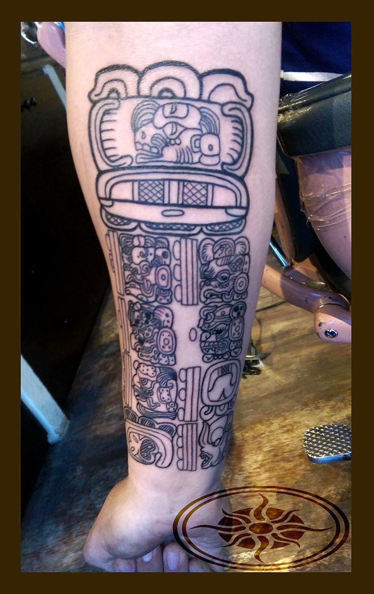 #mino #tattoos #maya #ink #SkinArt #Tatuajes #FineArt