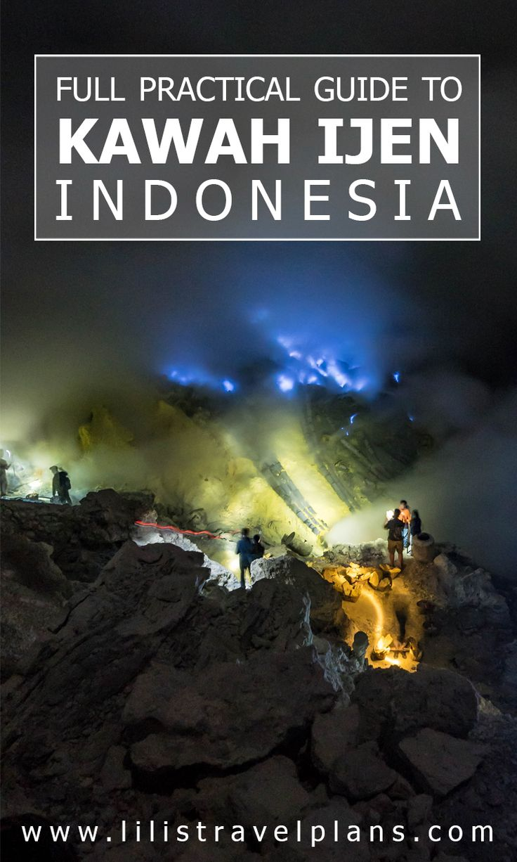 Full practical guide to the sulphur mine of Kawah Ijen, Indonesia - To tour or not to tour, that's the question!