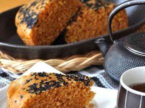 岩手の黒糖蒸しパン*がんづき*フークレエの画像