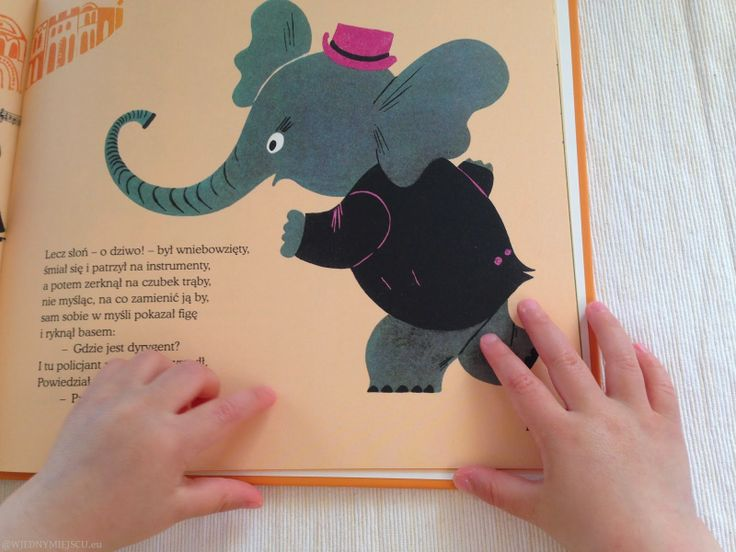 Wyjątkowe książki dla dzieci w jednym miejscu: Muzykalny słoń
