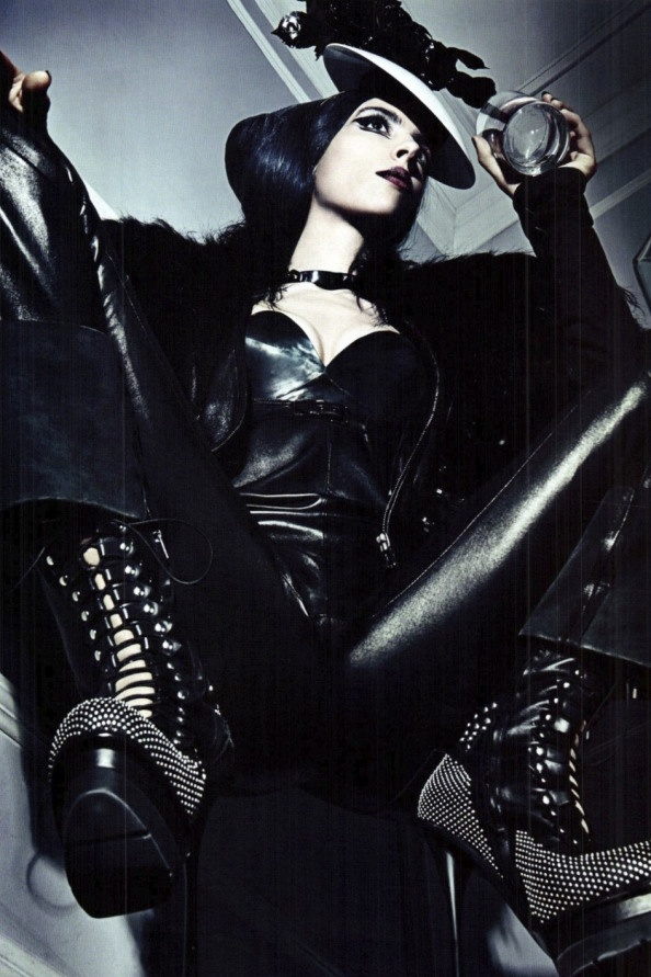 'A Point of View' by Steven Klein | Vogue Italia September 2011 VIII