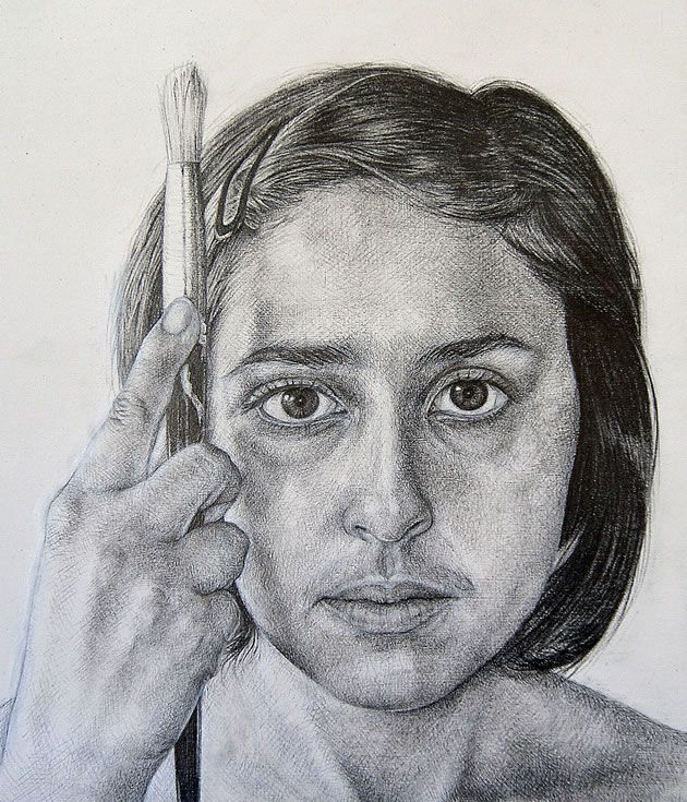 Famous Expressive Line Art : Top in the world stunning self portraits by an a level