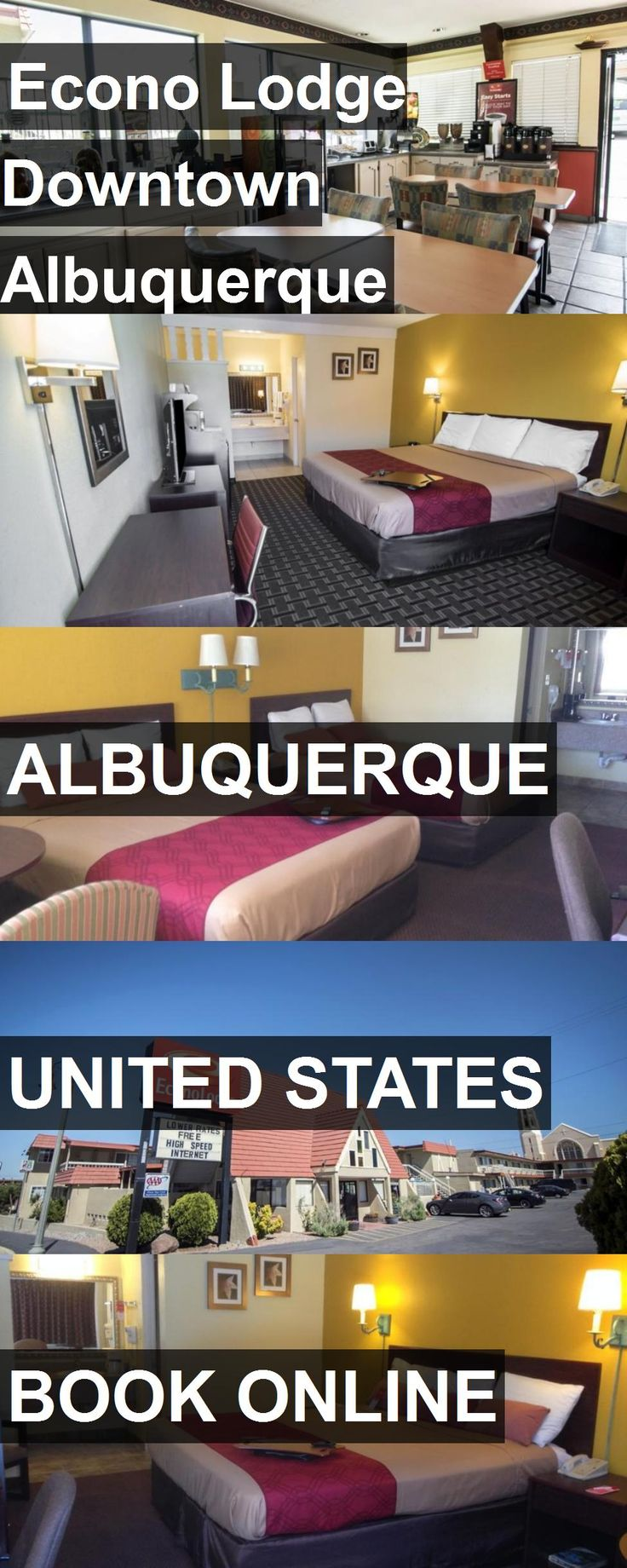 Hotel Econo Lodge Downtown Albuquerque in Albuquerque, United States. For more information, photos, reviews and best prices please follow the link. #UnitedStates #Albuquerque #EconoLodgeDowntownAlbuquerque #hotel #travel #vacation