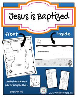 Jesus' Baptism Map & More