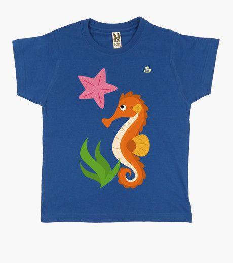 Camiseta Caballito de mar y estrella Camiseta niño clásica  19,90 € - ¡Envío gratis a partir de 3 artículos!