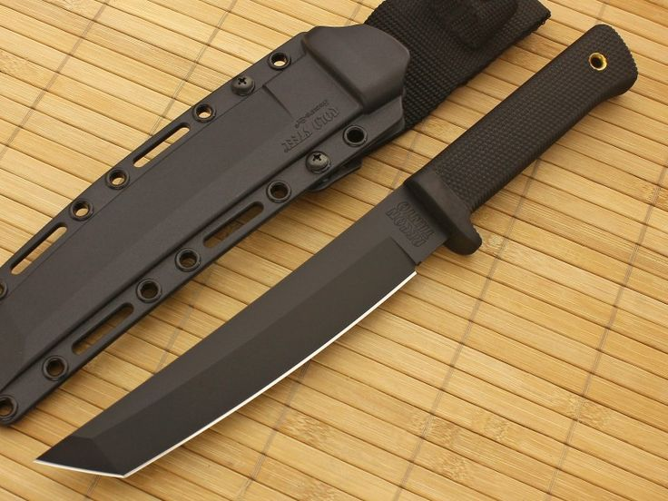 Cold Steel Knives Recon Tanto 13RTKJ1 Black VG-1 Tactical Knife on Sale | GPKNIVES.com