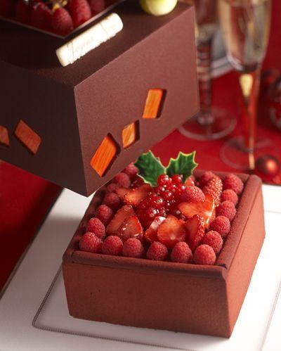 東京ホテル2008クリスマスケーキ