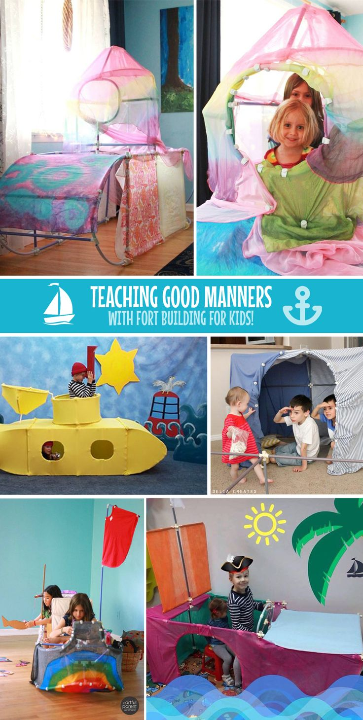 Teaching Good Manners with Fort Magic!