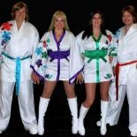 ABBA tribute band Re-Bjorn at The Tunnels in Bristol on Friday 26 June 2015