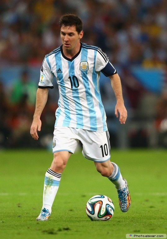 Lionel Messi Argentina 2014 FIFA World Cup Photo Wallpaper D