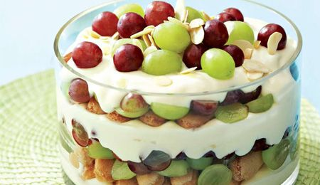 Cheesecake trifle with #Summer fruits #recipe.