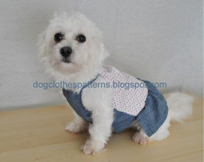 dog dress sewing patterns