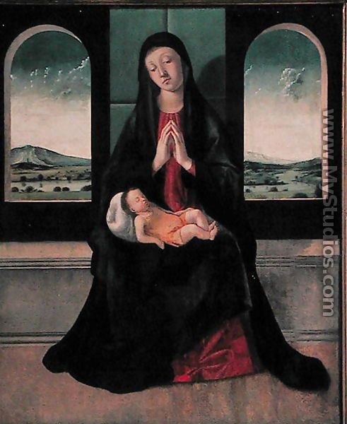 Alvise Vivarini: Madonna and Child
