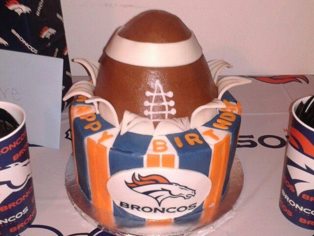 1000+ ideas about Denver Broncos Cake on Pinterest  Miami  ~ 183647_Birthday Party Ideas Denver