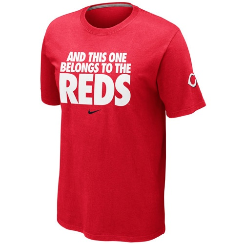 Marty's famous line makes for a perfect t-shirt. Cincinnati Reds Mens MLB  Local