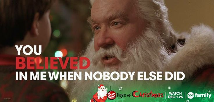 Pin these memorable moments from the Santa Clause Trilogy! Don't miss The Santa Clause and The Santa Clause 2 tonight starting at 5pm/4c on ABC Family!