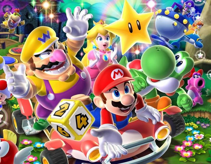 About to start a 4 person game of Mario party which one is the best