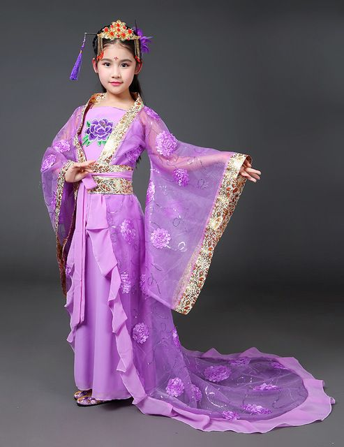b1c5cc44a Traditional Hanfu Dance Dress for Girls in 2019 | Traditional ...