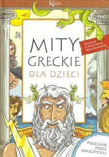 KSIĄŻECZKI SYNKA I CÓRECZKI :): Mity greckie dla dzieci