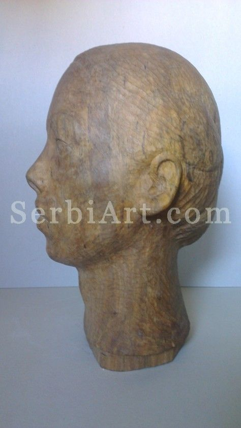 Marko Zivkovic - Wood Sculpture  Portrait