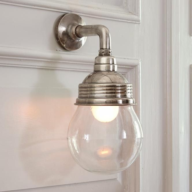 Beautiful Wandlampe Rubi antiksilber klar Jetzt bestellen unter http woonio
