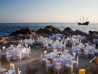 Luxury Unique Sea Front wedding in Croatia