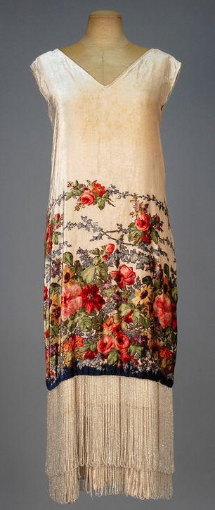 1920's - vestido auténtico de la época.