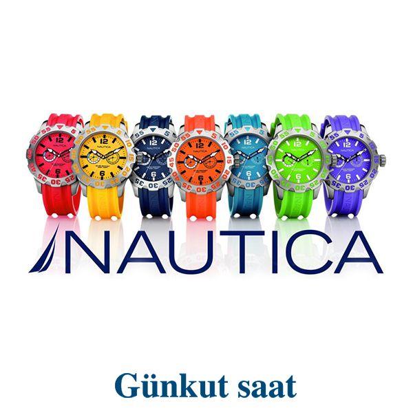 Sezon renklerinin en şık hali, Nautica Kol Saatlerinde…   http://www.gunkutsaat.com/catinfo.asp?mrk=14&cid=43&typ=&brw=&src=&stock=&kactane=24
