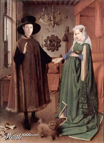 the wedding of arnolfini essay This essay had its beginnings in my desire to reexamine the arnolfini portrait from the perspective of giovanna cenami, the de- mure young woman who stands beside the cloaked and hatted man on.