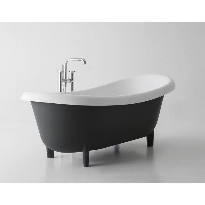 Valencia Duo 71 X 31 Freestanding Soaking Bathtub Nel 2020